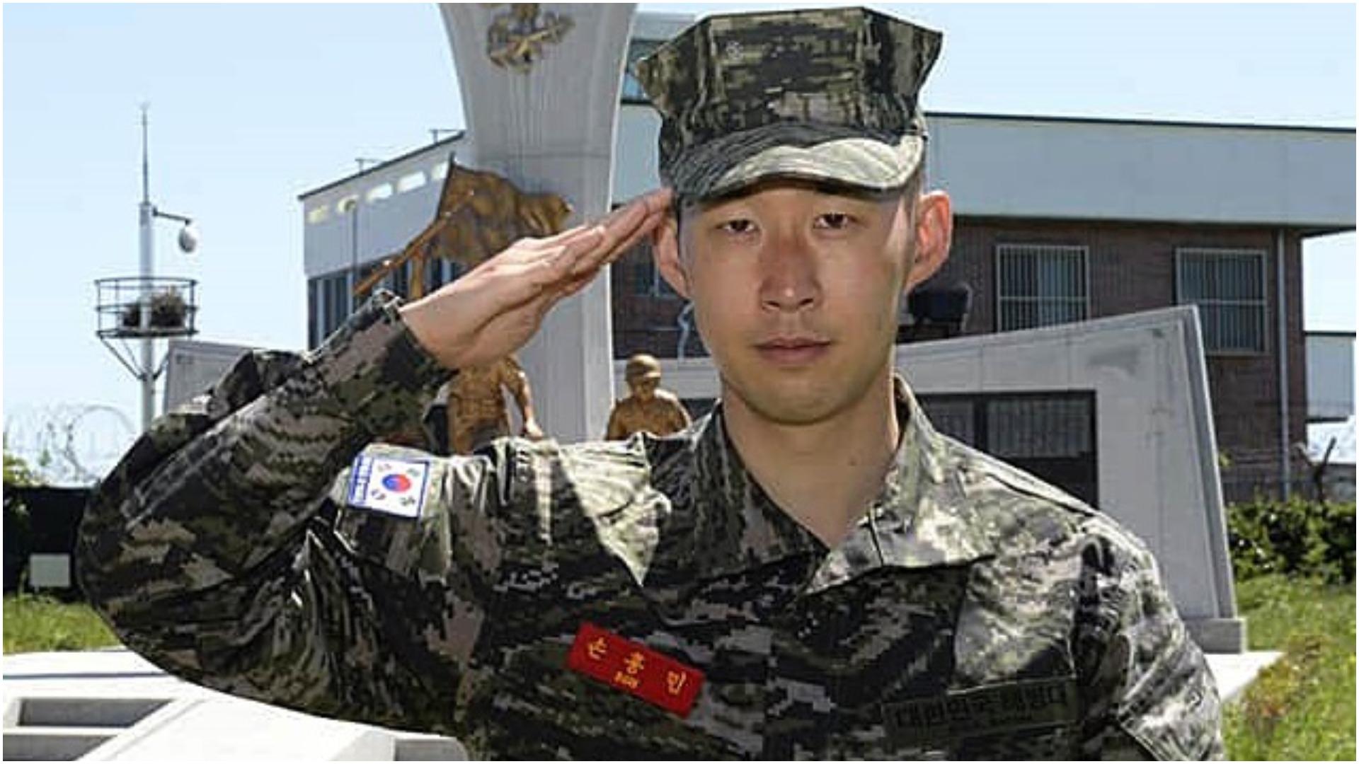 Rezultate të shkëlqyera, Heung-min Son largohet nga ushtria si më i miri