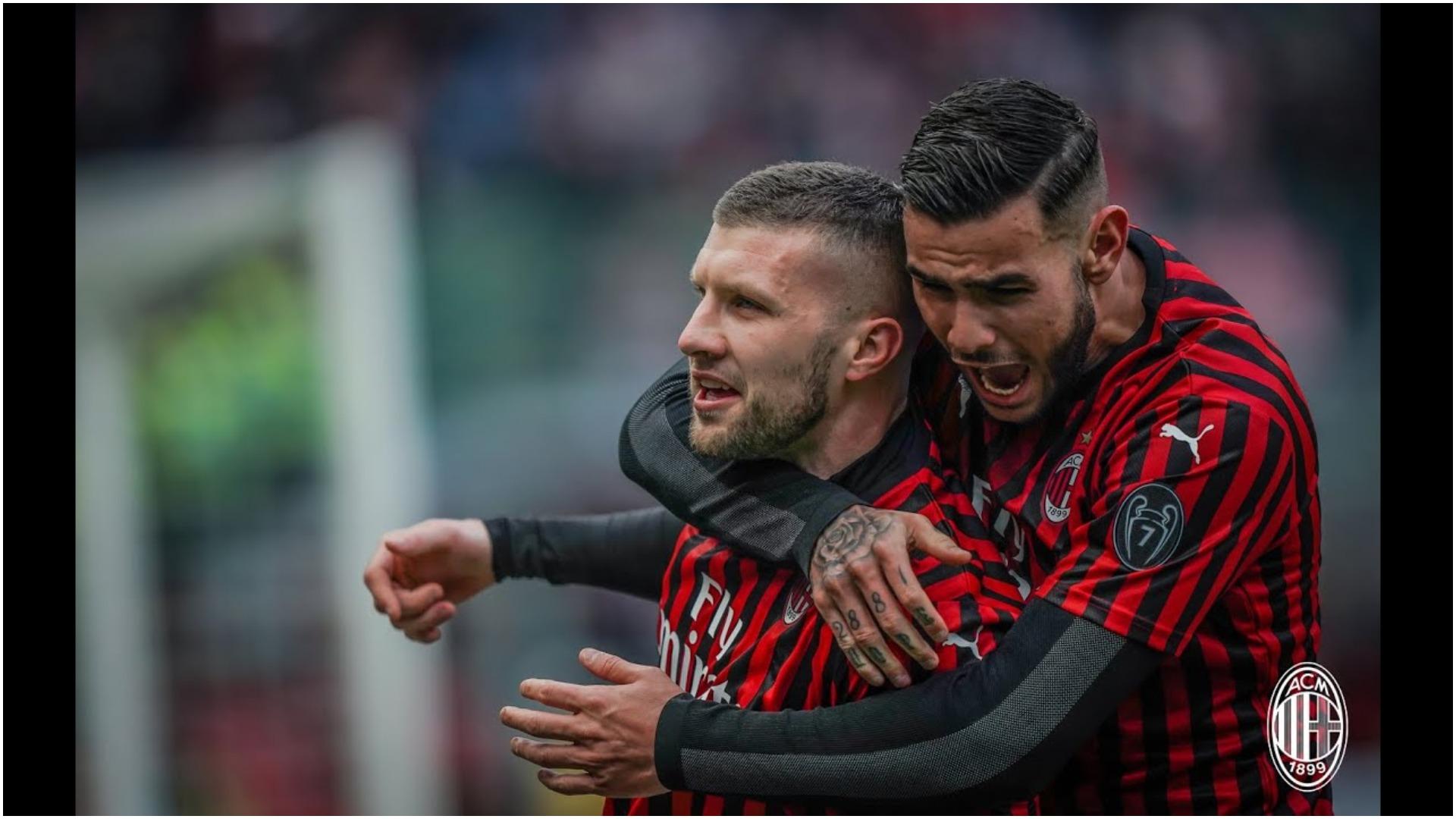 VIDEO/ Milani i frikshëm, Ante Rebic i shënon dhe të tretin Lazios!