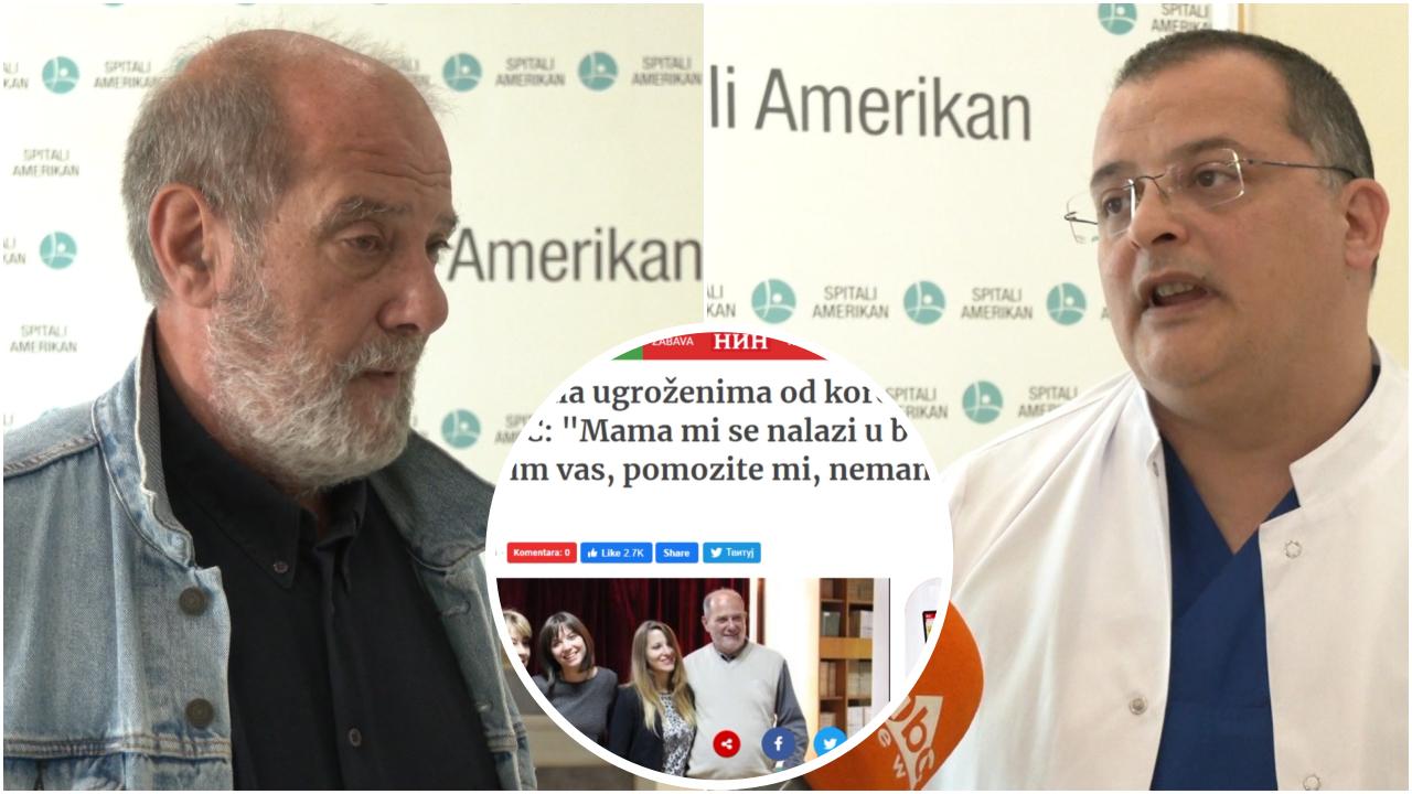 Mjekët e Spitalit Amerikan 3 në median serbe, trajtimi i 63 vjeçares që pësoi goditje në tru, histori suksesi
