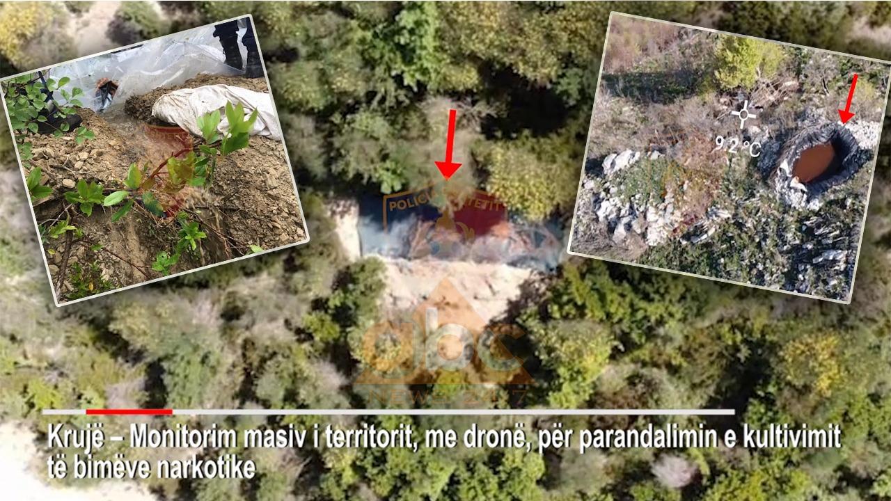 VIDEO/ FNSH blindon Krujën, kontrolle masive me dronë nga ajri për drogë
