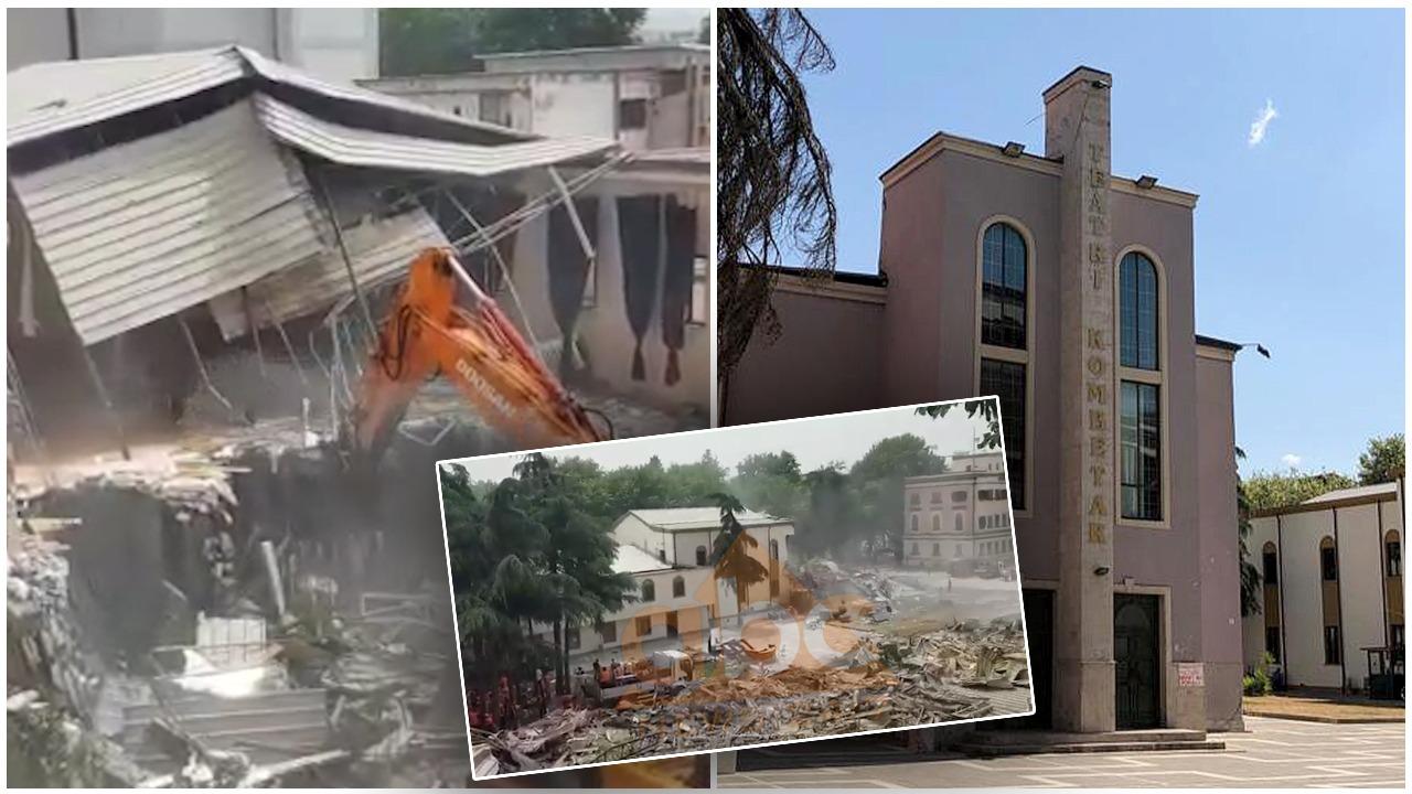 Mes temperaturës së lartë dhe pluhurit të mureve të Teatrit Kombëtar, vazhdon rezistenca qytetare e politike
