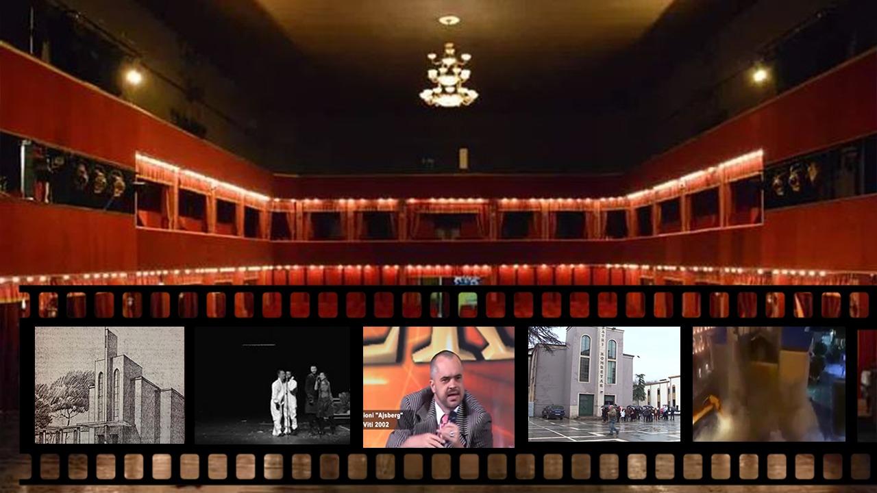 Historia e Teatrit Kombëtar Shqiptar dhe  beteja 20-vjeçare për shembjen e godinës