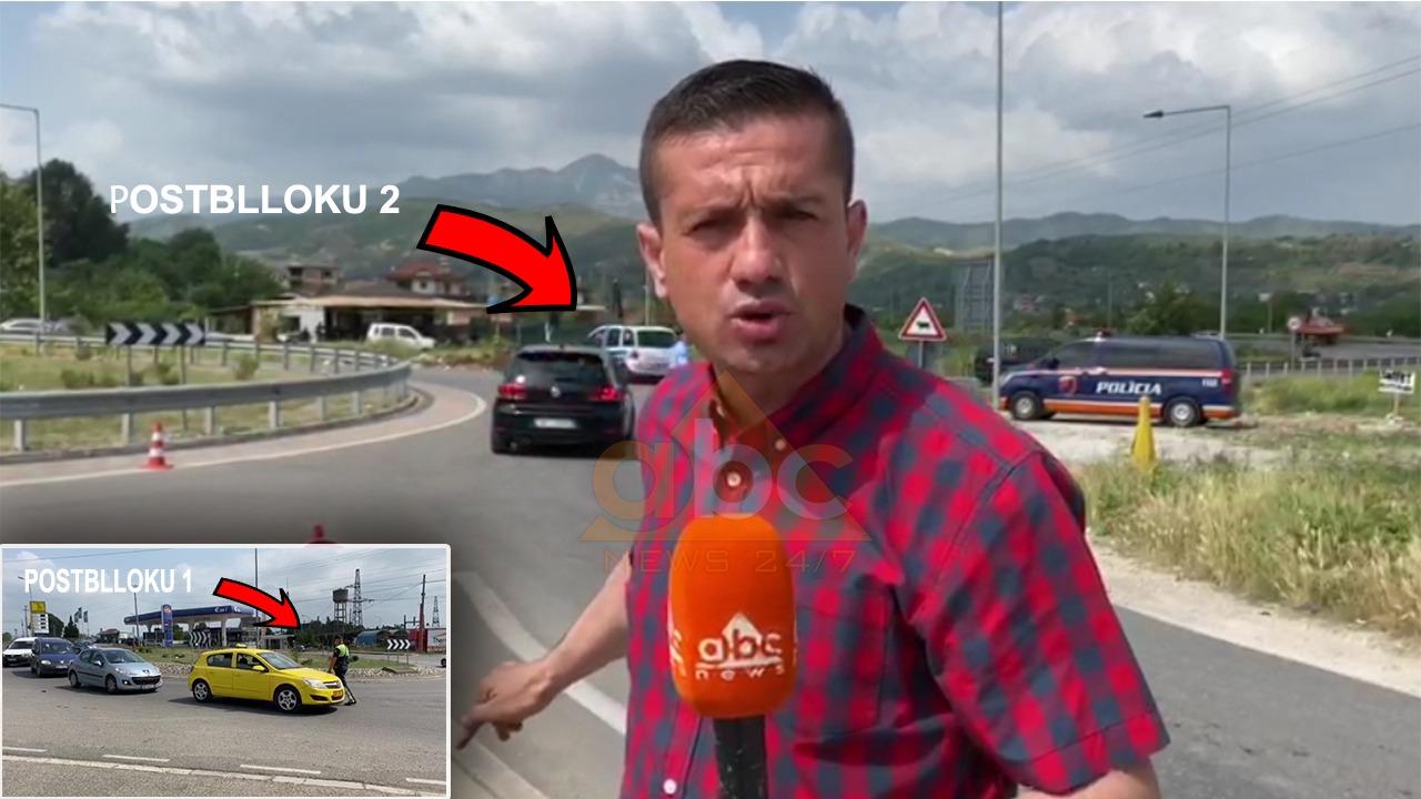 """""""Blindohet Elbasani"""", 2 postblloqe njëri pas tjetrit, kontrolle të imtësishme në automjete"""