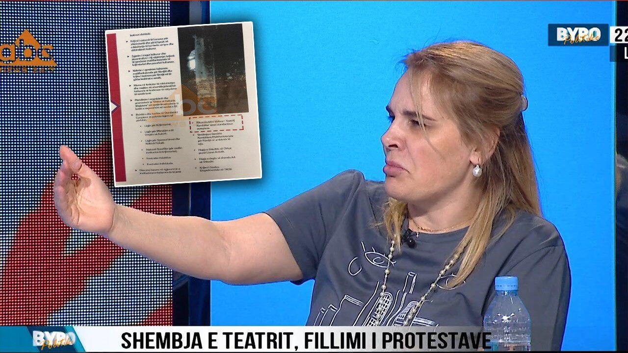 Kryemadhi kujton premtimin e Ramës: Në 2013 kishte në program rikonstruksionin e teatrit