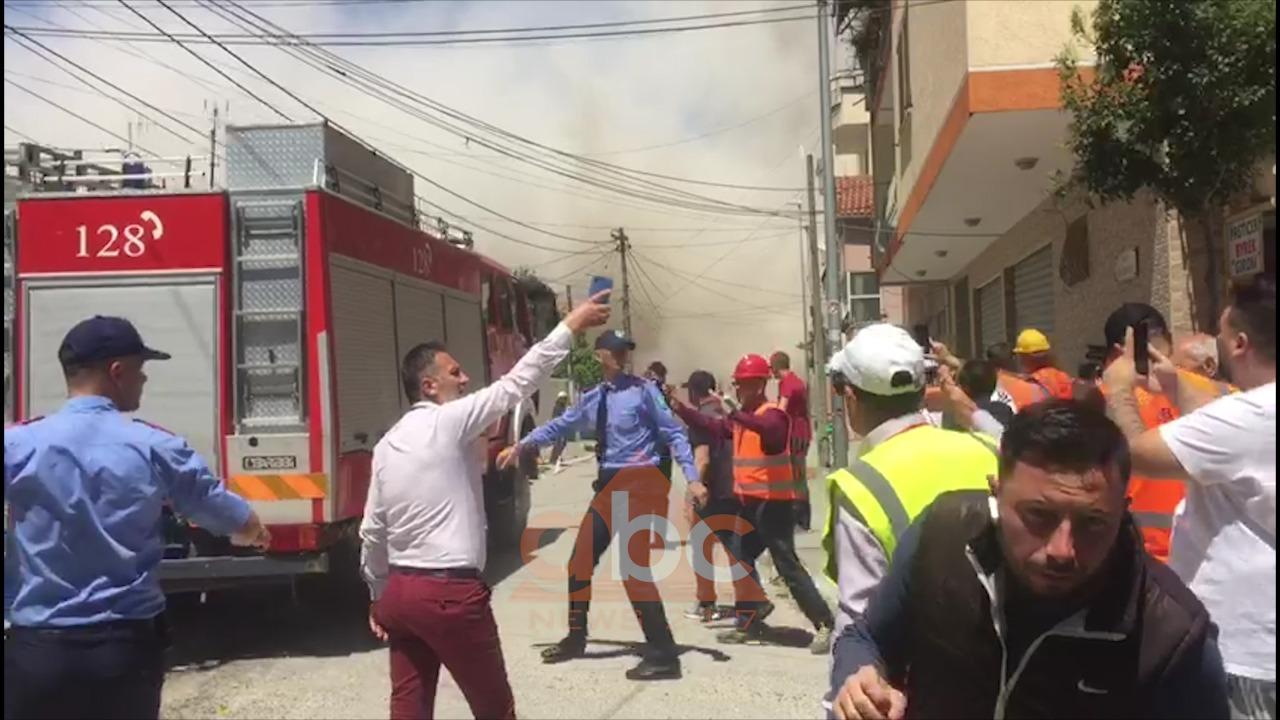 VIDEO/ Hidhet në erë pallati 6-katësh në Durrës