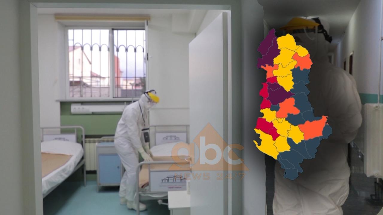 Nëntë raste të reja me COVID 19, ku janë të infektuarit