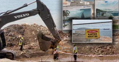 Punimet në bulevardin e Sarandës, banorët: Fusha shpk. po dëmton vijën bregdetare