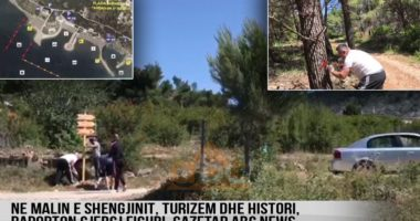 VIDEO/ Turizëm dhe histori në malin e Shëngjinit