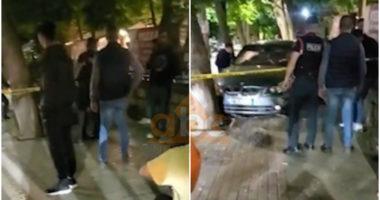 VIDEO/ Aksident në Korçë, makina përplaset me murin, në gjendje të rëndë një këmbësor