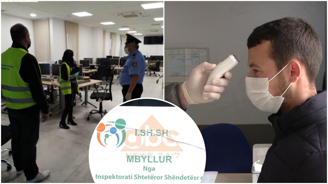 Mbyllet call centeri në Tiranë pasi u konstatuan 15 punonjës me covid, në ndërtese ka aktivitete biznesi