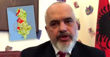"""""""S'ka më zona të kuqe"""", Rama: Shumë shpejt do të prezantojmë planin për rimëkëmbjen ekonomike"""