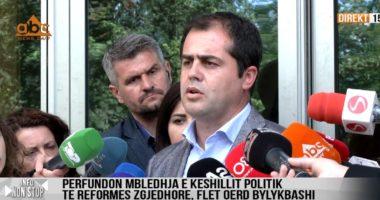 """""""Zgjedhorja""""/ Bylykbashi: Pa dakordësi për identifikimin biometrik, pikat e tjera nuk kanë vlerë"""