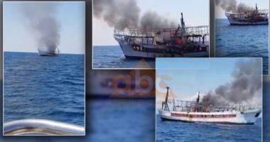VIDEO / Dalin pamjet e djegies së peshkarexhës në Durrës, shpëtohen 3 marinarët