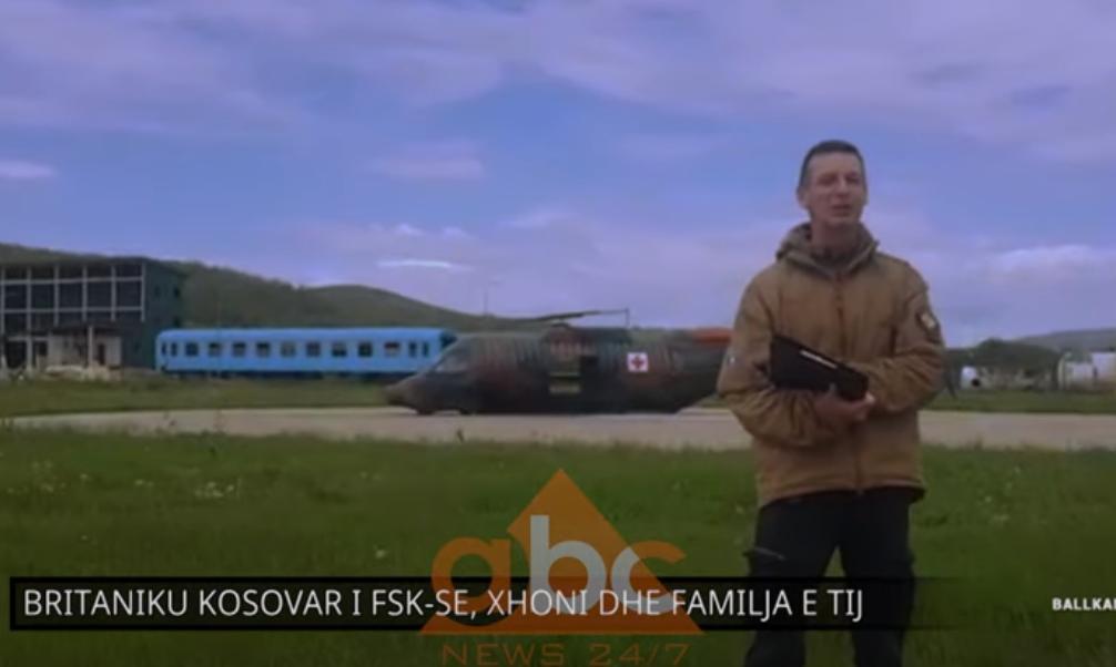 Britaniku kosovar i FSK-së, Xhoni: Unë flas shqipen e Londrës