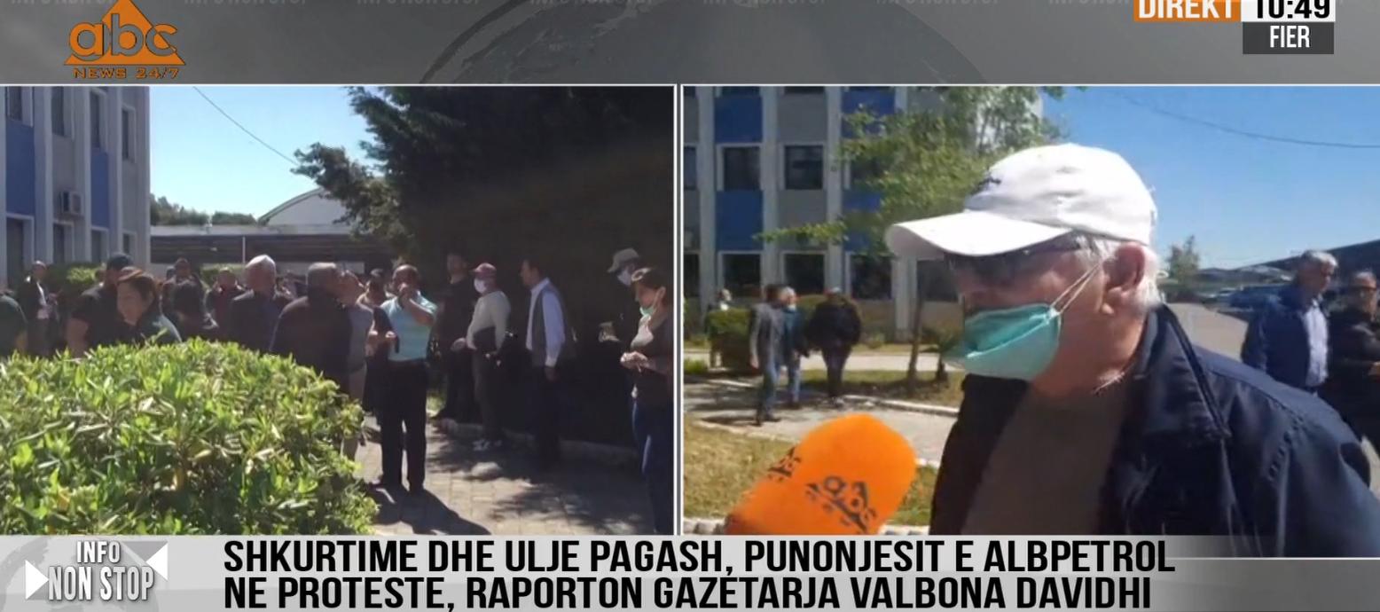 Albpetrol ul pagat, punonjësit në protestë: Kemi punuar çdo ditë me sakrifica