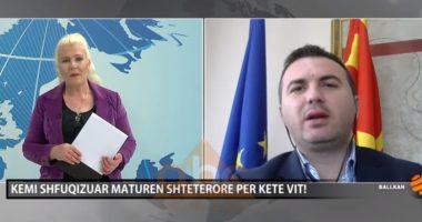 Arbër Ademi, ministër i arsimit në Maqedoninë e Veriut: Kemi shfuqizuar maturën shtetërore për këtë vit!