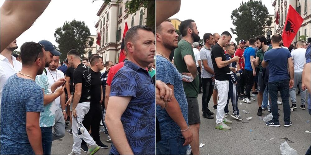 Protesta pas shembjes së Teatrit, procedohen Budina, Liçaj dhe Stresi