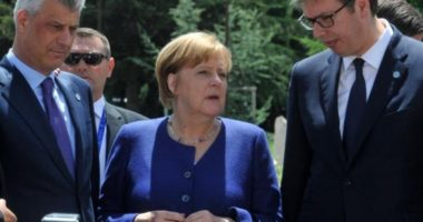 Merkel porosit Thaçin dhe Vuçiç: Marrëveshja Kosovë-Serbi të përgatiten brenda vitit