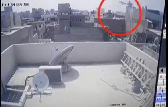 VIDEO/ Publikohen pamjet e rrëzimit të avionit në Pakistan me 100 pasagjerë në bord