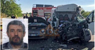 Shqiptari vdes tragjikisht në aksident rrugor në Itali në 46-vjetorin e tij të lindjes