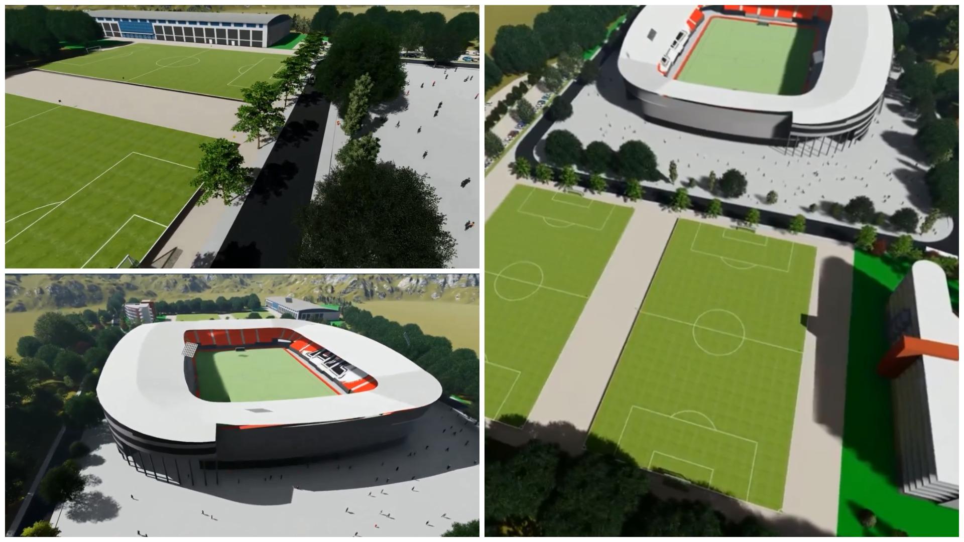 VIDEO/ Projekt-ide super, klubi shqiptar mendon për stadiumin e ri
