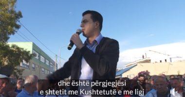 Basha i rikthehet takimit të Durrësit: Pasi i vodhi, Rama tani synon t'i mbyllë gojën shqiptarëve