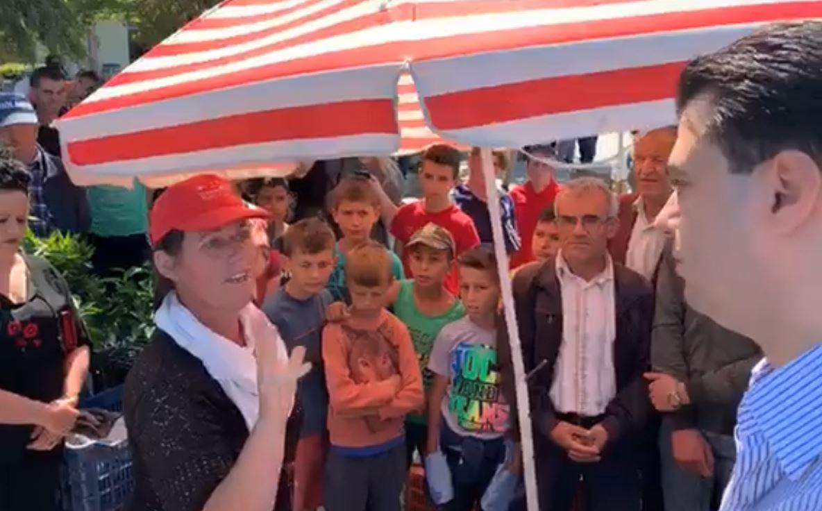 """""""Po i rris fëmijët rrugëve, nuk më kanë ndihmuar"""": Qytetarja shpërthen e revoltuar para Bashës"""
