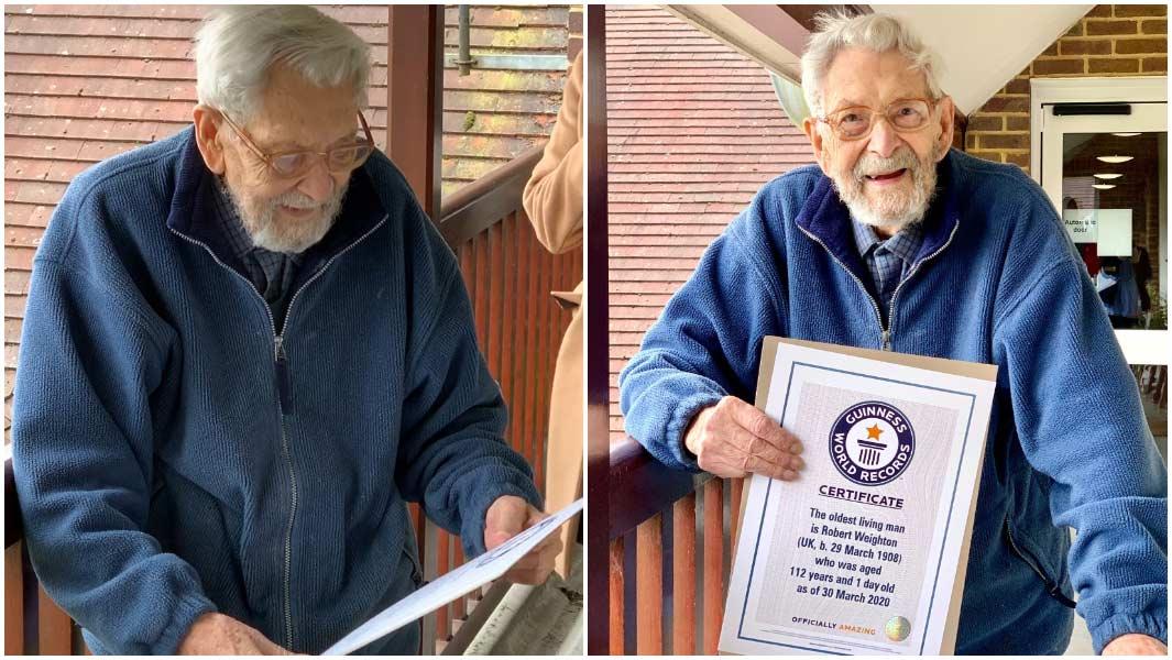 Ndahet nga jeta në moshën 112-vjeçare burri më i vjetër në botë