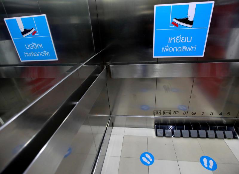 Idea gjeniale e qendrave tregtare në Bangkok për të ndaluar përhapjen e koronavirusit