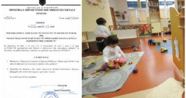 Zbardhen protokollet: Çerdhet dhe kopshtet, si duhet të sillen prindërit dhe edukatorët