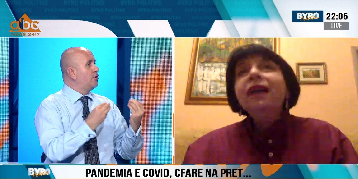 Debat mes Silva Binos dhe epidemiologut: Stafi mjekësor në QSUT u infektua se nuk ka masa mbrojtëse