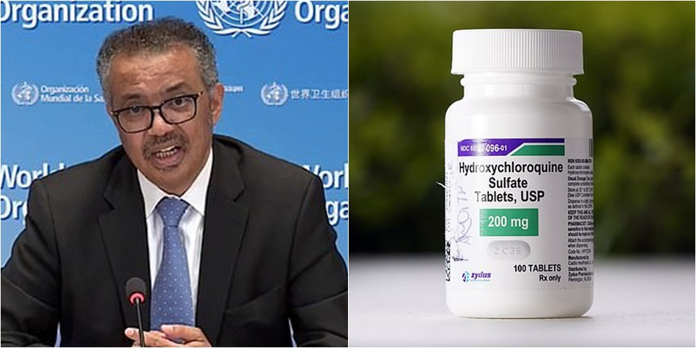 Nivel i lartë vdekshmërie tek pacientët, OBSH pezullon provat klinike të hidroksi-klorokuinës
