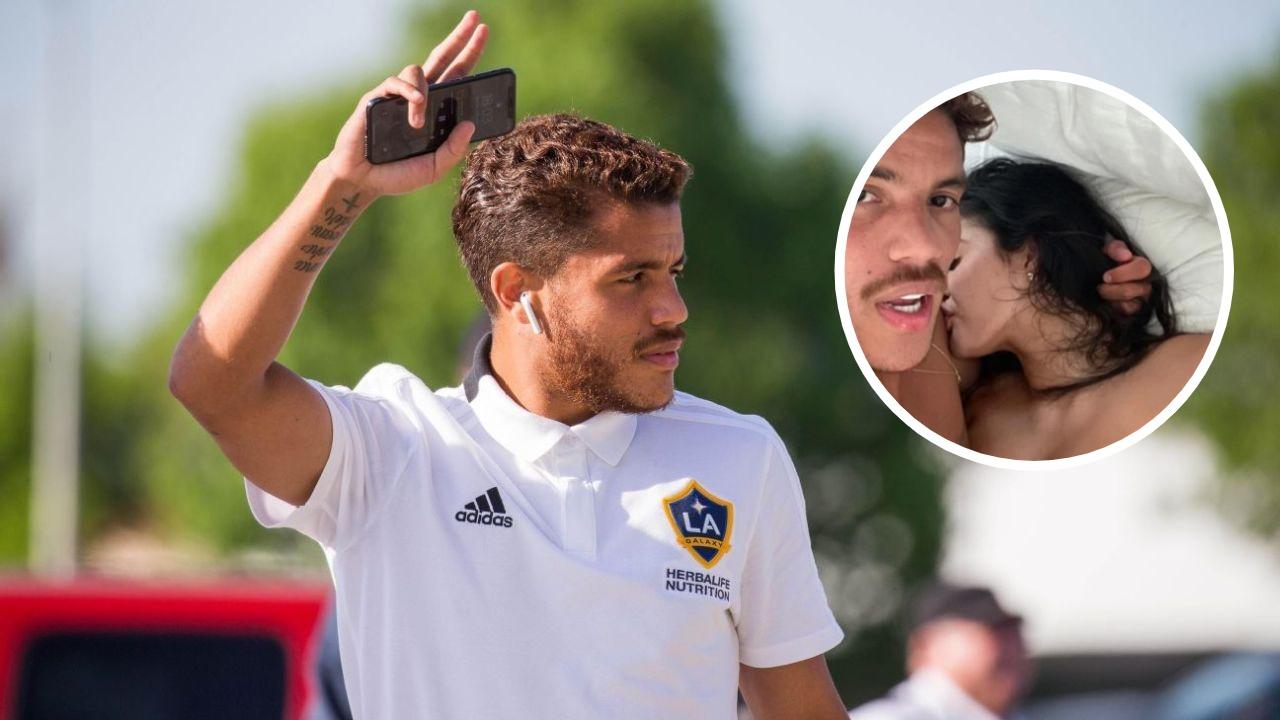 Gafa e futbollistit meksikan, poston foto 'nudo' me të dashurën e tij