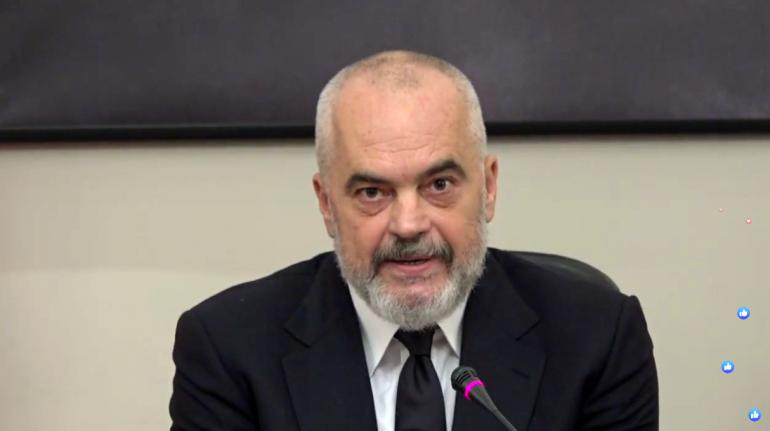 """Akuzat për krime lufte ndaj Thaçit, Rama mbetet """"pa tekst"""": Nuk kam fjalë për indinjatën"""