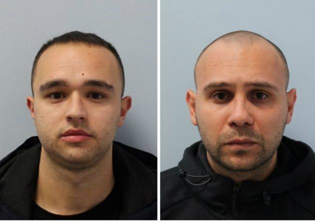 """VIDEO / Momenti i arrestimit në Londër i 2 të rinjve nga Elbasani, sekuestrohet """"e pastër"""" me vlerë 1.4 milion paund"""