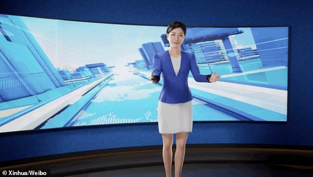 """""""Klonoi"""" gazetaren, agjencia kineze e lajmeve prezanton spikeren virtuale 3D me inteligjencë artificiale"""