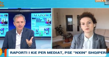 """Raporti i KiE për mediat, pse """"nxin"""" Shqipëria? Kusari: Përjashtimi i medias nga ndihma financiare qëllim për t'i shtypur"""