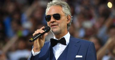 Andrea Bocelli zbulon se ishte infektuar me Covid-19, tenori dhuron plazmën e gjakut