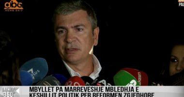 Gjiknuri: Opozita të na bashkangjitet, pritja nuk mund të vazhdoj gjatë, votat në parlament i kemi