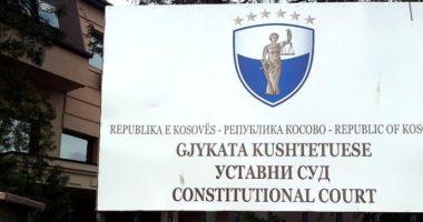 Mblidhen gjyqtarët e Kushtetueses në Kosovë, pritet vendimi për dekretin e Thaçit