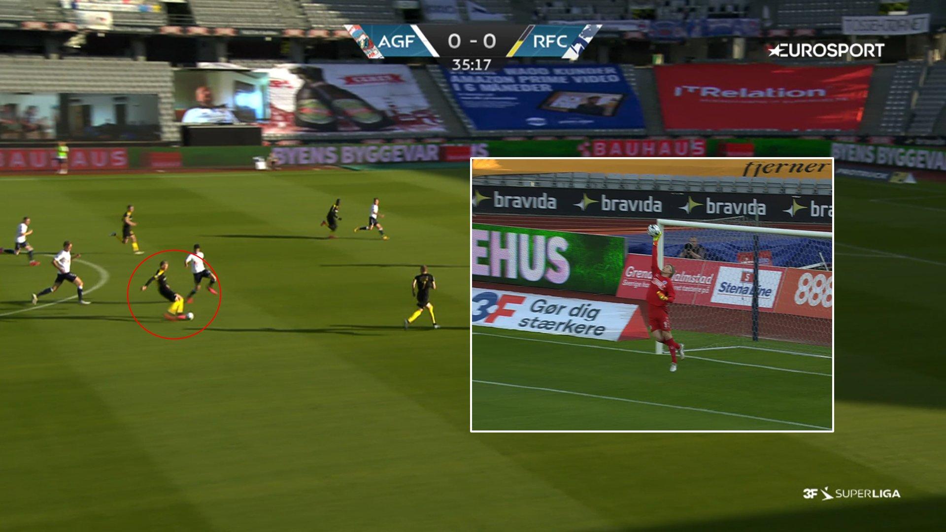 """Tifozë që shohin ndeshjen me """"Zoom"""" dhe gol nga 50 metra, spektakël danez"""