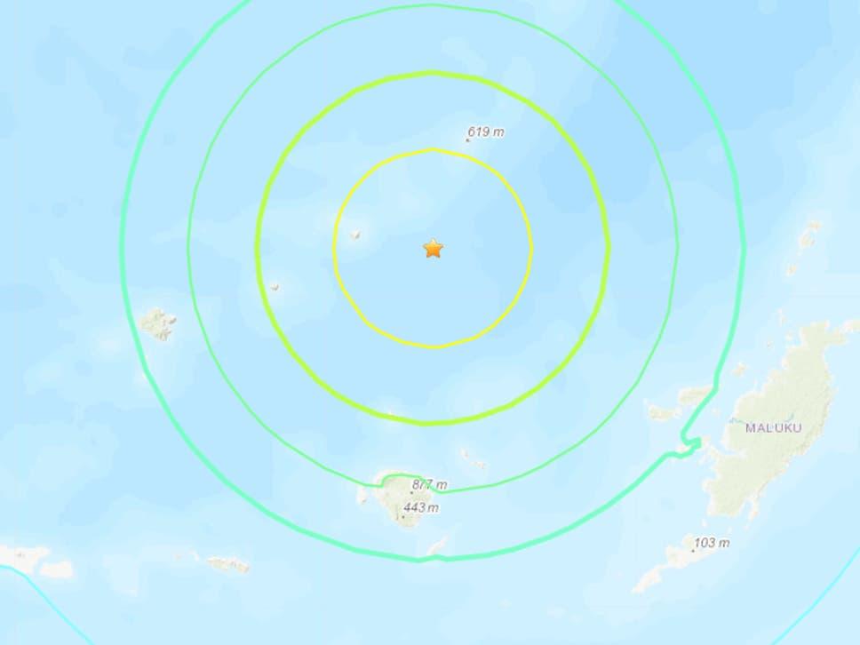Tërmeti i fuqishëm godet Indonezinë, sa ishte madhësia