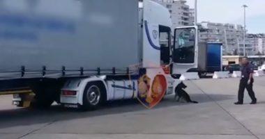 Kapet në Kapshticë kamioni me 200 kg drogë, arrestohet shoferi