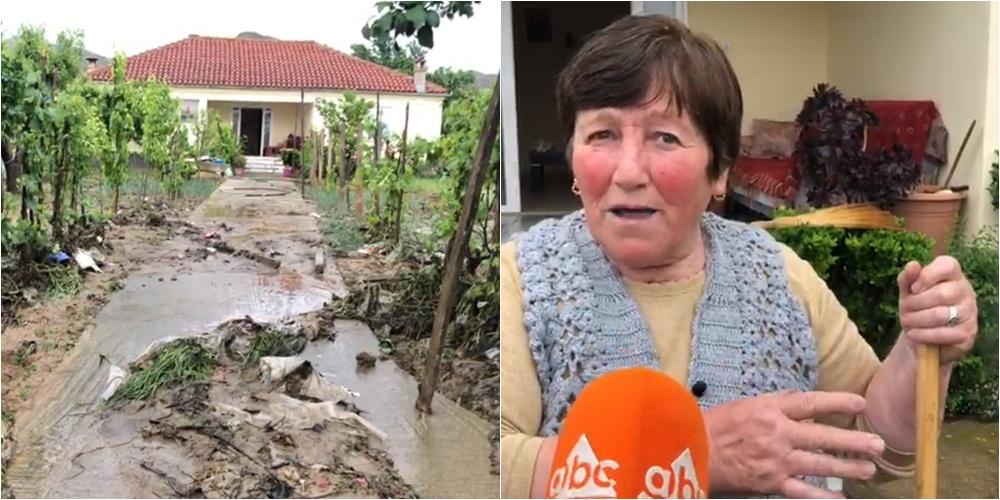 Reshjet/Përmbyten banesat në Porodine, banorja: I thashë burrit hap portën se u mbytëm