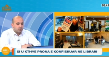 Ambienti i sekuestruar nga krimi kthehet në qendër për të rinjtë në qytetin e Durrësit
