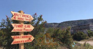 Shtigje turistike në natyrë, 8 km rrugë në këmbë për të eksporuar malin e Rrencit në Lezhë