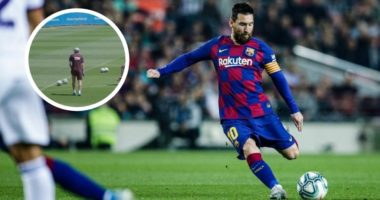 "VIDEO/ ""Do e dashuroni"", Barcelona prezanton ""yllin"" që gjuan si Messi"