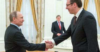Presidenti rus Vladimir Putin viziton Serbinë në tetor