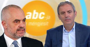 Kryeministri Edi Rama përballë gazetarit Enkel Demi, intervistë në ABC News