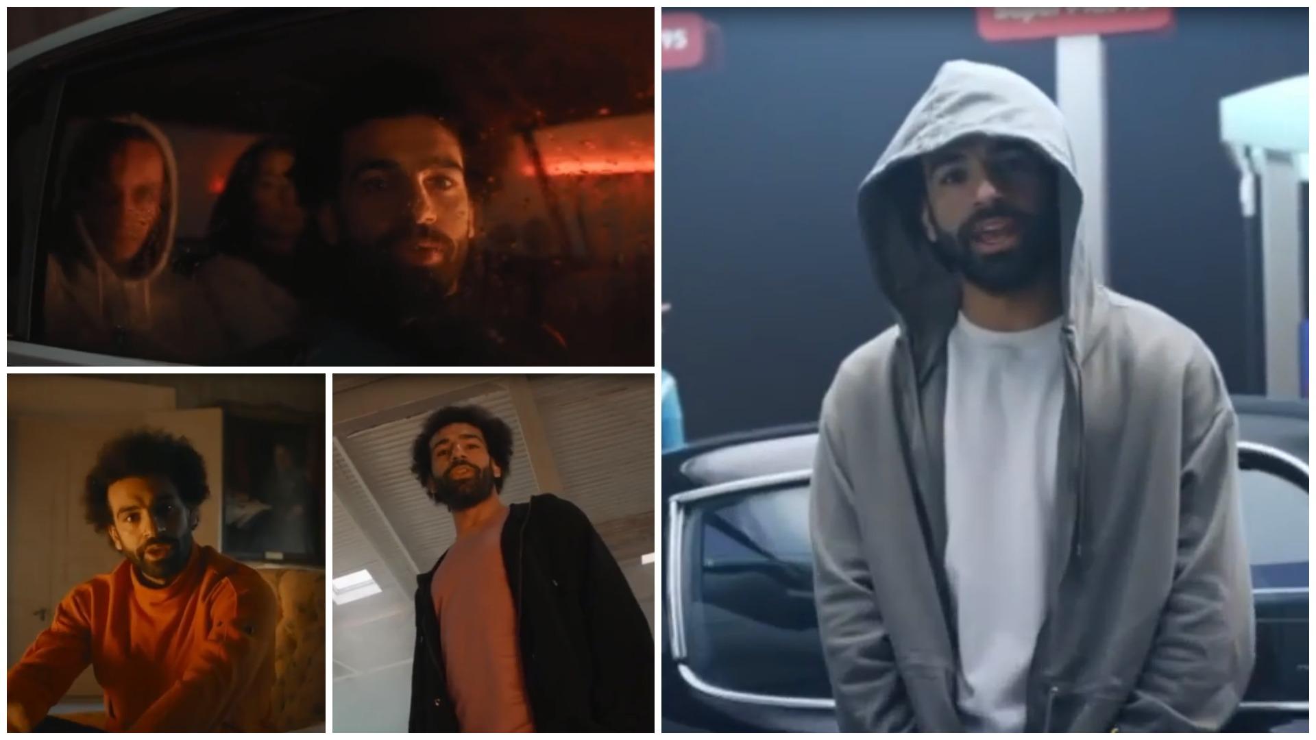VIDEO/ Askush nuk do e besonte, Salah shkëlqen edhe si reper